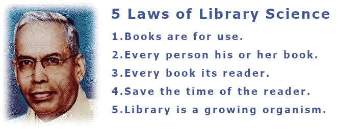 five laws of laws of library science